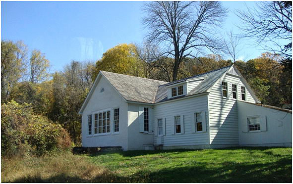 "The ""schoolhouse"" and Andrew Wyeth's studio in Chadds Ford"